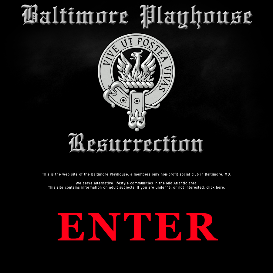 Baltimore Playhouse Resurrection
